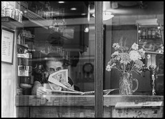 Le café d'en face * Paris (sistereden2) Tags: olympus nb f18 45mm omd zd em5 artlibres