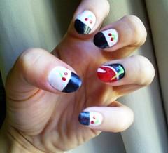 Desafio Clube do Esmalte - CherryDay vol.2 (Caroline Vargas da Silveira) Tags: cherry cereja unhas nailart esmalte risquê clubedoesmalte