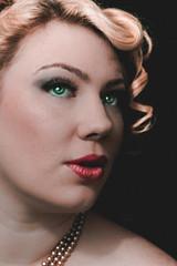 Trixie - Colorized (JAS (realjas)) Tags: seattle portraits vintage photography model kristin myphotography kristinkangur