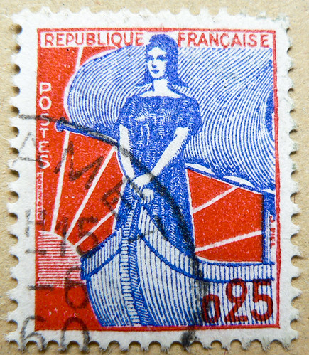 great stamp France postage 0.25 F Marianne (allegory) francobolli Briefmarken Frankreich porto timbres Republique Francaise フランス 切手 ジャガー selos sello France ма́рка Фра́нция bollo francobolli Francia marka mapka stamp France 0,25 F postage postes