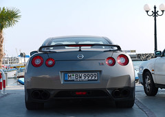 Nissan GT-R (MauriceVanGestel Photography) Tags: auto sea haven black cars car sport club port mnchen puerto japanese grey harbor mar nissan power harbour negro zee more bulgaria coche r autos gt burgas zwart blacksea karadeniz supercar coches bg sportscar lancia grijs supercars gtr plazma marea bulgarian japans sportwagen bulgarije sveti vlas bourgas nissangtr zwartezee cherno mareaneagra neagra japanesecar chernomore  svetivlas balgarija marnegro nissangt bulgaars sportwagens  japanesesupercar   japanseauto japansesupercar japansesportwagen svetivlasbulgaria grijzenissan svetivlasbg greynissangtr mbw9999 grijzenissangtr clubplazma