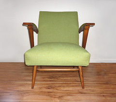 Mid Century Stationary Rocking Chair (Circa Furniture) Tags: vintage furniture retro rocker etsy rockingchair armchair midcenturymodern mcm eamesera