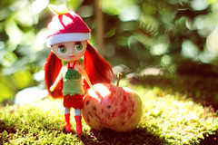 Knopa with apple