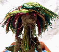 Vodnik (1) (McFiberNutt) Tags: thread miniature crochet folklore amigurumi