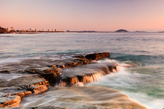 Tabletop Photography (Matthew Post) Tags: ocean longexposure seascape rock sunrise post matthew australia shelf queensland sunshinecoast mooloolaba maroochydore alexandraheadlands matthewpost