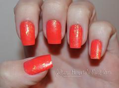 Demorei mas voltei! (Juliana Honório's Nail Arts) Tags: apple hellokitty nail jazz vermelho hits unha fosco esmalte esmaltação flocado