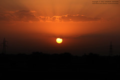 Sunset (Anubhav Kochhar) Tags: x5 silhouette flickraward flickrtravelaward photography soloindiantraveller anubhav kochhar anubhavkochhar airingbyway canon eos