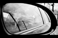Wires (PattyK.) Tags: blackandwhite reflection me car reflections myself photography mirror moving nikon europa europe flickr hellas wires ontheroad europeanunion onthemove myphotos 2012 ellada ioannina giannina giannena epirus   ipiros     jannina jannena       nikond3100 picmonkey