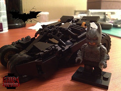 Yes Mr. Wayne, it does come in black. (pecovam) Tags: brick dark lego batman knight custom bane affliction rises the pecovam
