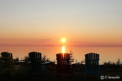 SUNSET OVER  ST. LAWRENCE RIVER  |   REFORD GARDENS   | LES JARDINS DE METIS  |  COUCHER DE SOLEIL  |   GASPESIE  |  QUEBEC   |  CANADA (C C Gosselin) Tags: sunsetonsaintlawrenceriver sunset saintlawrenceriver coucherdesoleilfleuvesaintlaurent coucherdesoleil fleuvesaintlaurent metis metisbeach metissurmer gaspesie quebec canada ph:camera=canon geo:country=canada geo:region=quebec geonames:locality=metis canoneosrebelt2i canoneos7d canon7d canon 7d eos7d canoneos eos canoneosrebelt2 coucher de soleil les jardins