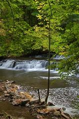 Postcard Falls - Side View (+David+) Tags: trees waterfall sideview postcardfalls