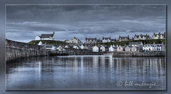 Harbour Dusk #2 (Bill McKenzie / bmphoto) Tags: church fishing harbour best highland moray findochty availabletolicence