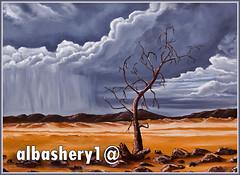 أنتظار (Albashery) Tags: مطر غيوم سحاب رسم جفاف