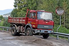 IVECO  190/26 (marvin 345) Tags: old italy classic truck vintage italia voiture historic camion oldtimer trucks oldtruck trentino piscine iveco vecchio epoca storico vecchia cantiere autocarro vecchie iveco190 iveco19026