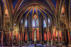 Inside Sainte-Chapelle (Fil.ippo) Tags: travel paris building glass saint architecture sainte nikon interior gothic chapel stained viaggi chapelle hdr filippo parigi gotico d7000 filippobianchi
