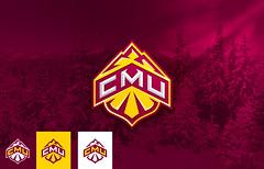 CMU Ski logo concept (Brian Bollig) Tags: ski mountains sports logo colorado cmu identity