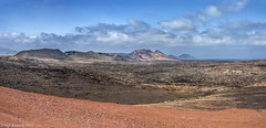 Timanfaya Volcanos (K_D_B 2 Million views. Thanks) Tags: new canon landscape lava rebirth volcanic lunar cones volcanos lavafield kdb landmass g9 lanzerote timanfayanationalpark