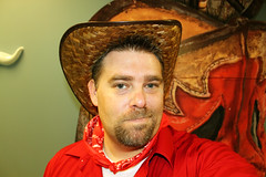 Day 1373 - Day 278 (rhome_music) Tags: canon photography eos dallas cowboy texas tx country western plano handkerchief cowboyhat dailyphoto dayinthelife csw photojournal northtexas year4 canonphotography 365days apicaday customerserviceweek 365more 365alumni t1i 2012yip 2012inphotos 365days2012 daysin2012 photosin2012 365daysyear4