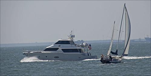 sailboat motorboat hamptonroadsva roncogswell motorboatamdsailboat
