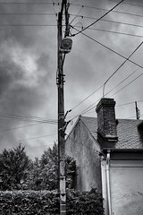 Connected (Stphane Dgremont) Tags: street light urban blackandwhite black art architecture canon dark eos raw noiretblanc tarbes 60d blackandwhiteonly bwemotion canoneos60d eos60d stephanedegremont wwwstphanedgremontviewbookcom