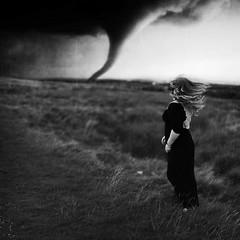 The Oncoming Storm (Rebecca Bentliff) Tags: selfportrait storm rebecca wind hurricane palmer disaster twister tornado oncoming texturebybrookeshaden