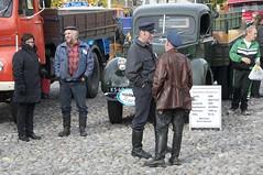 Old truckers (jptoivon) Tags: auto old truck suomi finland europa lorry transportation tampere 2012 keskustori sisu d300s kulttuurimaisema