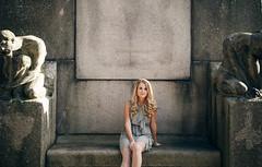 Susanna (xibalbax) Tags: portrait woman statue canon sitting 7d blonde 1755mm canoneos7d