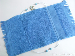 """Necessaire Toalha"" (Lavanda Artes) Tags: bolsa lembrancinha necessaire higiene portaescovadedente kithigieneoral"