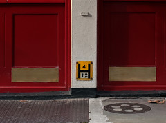 H = 4 over 12 (Clive Jones Photography) Tags: urban streets lines graphics squares cities streetphotography jericho towns oxfordshire streettalk firehydrants oxforduk nikond300 waltonstreetoxford jerichooxford theoxonian streetfurnishing