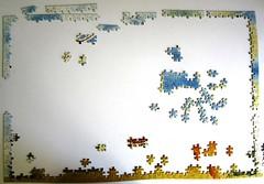 Wachifield: Happy Birthday (Leonisha) Tags: puzzle unfinished jigsawpuzzle