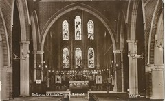 262, Interior of St Lukes Church, Browning Road, Enfield (Hodge postcards) Tags: cahodge enfield postcard hodge hillyfields chashodge photographer
