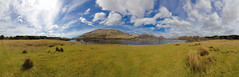Loch Awe - Kilchurn Castle (Crazyideas95) Tags: panorama cloud lake mountains castle scotland highlands sunny 360 loch awe puffy kilchurn