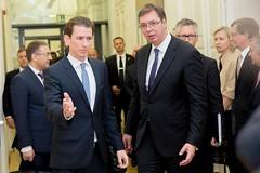AM Kurz trifft Serbiens Regierungsspitze