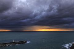 Clouds (Enrico Cusinatti) Tags: clouds cielo canoneos6d cloud canon camogli enricocusinatti eos esposizione faro italy italia liguria mare mer nuvole nubi orizzonte rocks sea sunset sky scogli travel tramonto viaggi vacanze vacation