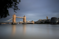 London Bridge (Justin Sharer) Tags: london england long exposure neutral density 10 stop lee filters nd grad 9ndgradhard europe canon 5dmarkiii 1635mm