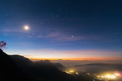 Mt. Bromo viewpoint Sunrise (Robert-Jan van der Vorm) Tags: indonesia mount bromo viewpoint tengger massif active volcano night stars sunrise east java