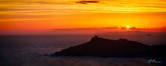Sunrise Over St Ives Island (Dave Massey Photography) Tags: stives cornwall godrevylighthouse sunrise dawn coast ocean england wow