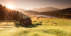 Geroldsee (thomasfejeregyhazy) Tags: bavari bayern geroldsee lake landscape landschaft see sonnenaufgang sunrise