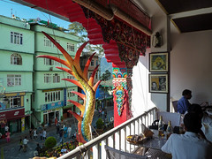 . (S_Artur_M) Tags: india indien lumix panasonic reise tz10 travel gangtok sikkim reataurant colorful