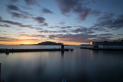DSC_3090 (d.custer) Tags: long exposure nd400 neutral density alesund norway sunset midnight sun lighthouse travel