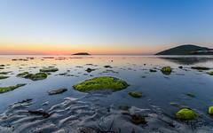 Green (mattsecombe) Tags: green landscape seascape waterscape sunrise water sea sun clouds sky colour rock island victorharbor southaustralia australia travel beauty beach sand clarity nikon d750 tamron sharp