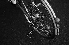 (Corblate) Tags: french girl nikon d5100 outside natural light black white bike rainy day japan tokyo travel asia