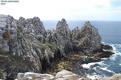 Pointe de Pen-Hir (Monde-Auto Passion Photos) Tags: pointe penhir crozon france finistre bretagne mer ocan bleu atlantique caillou rocher