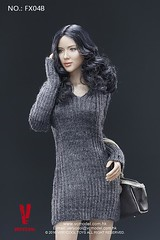 VERYCOOL TOYS VCF-X04 Asian Female Body Set - B8 (Lord Dragon ) Tags: 16scale 12inscale onesixthscale actionfigure doll hot toys verycool female