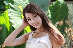 DP1U6158 (c0466art) Tags: lovely cute pretty university taiwan girl  beautiful eyes figure slim long hair sweet smile nextdoor kind charming gorgeous out door portrait light canon 1dx c0466art