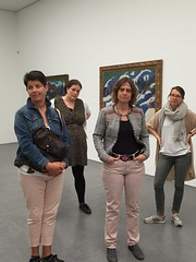 um dann inmitten von Kirchner noch mehr über das Museum erfahren.