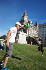 DSC06240 (liverpix) Tags: cleo dog performing anthonywalsh photowalk 500px liverpool pierhead liverbuilding ballerina ballet