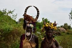 Mursi women (2) (Prof. Mortel) Tags: ethiopia omovalley mursi