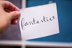 Fantastic! | 232/366 (Cassidy Jade) Tags: fantastic typography cursive handlettering font handwriting cy365 366 366project 366the2016edition 3662016 day232366 19aug16