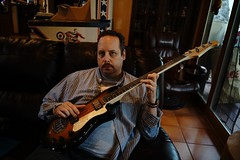 DSC00590 (tbenjamin512) Tags: guitar family music weekend house home father dad chill america texas electricguitar